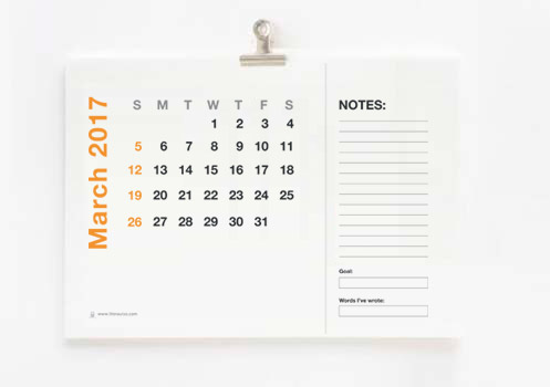 free-printable-calendar-for-writers