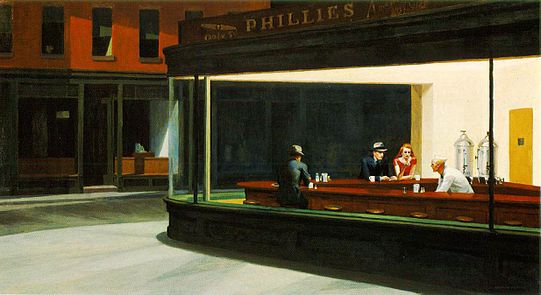 Nighthawks, de Edward Hopper