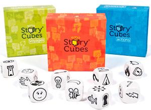 Juego de creativiad Story Cubes