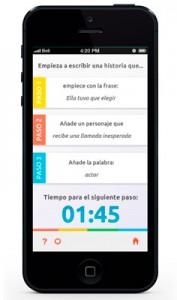 App con ejercicios de escritura