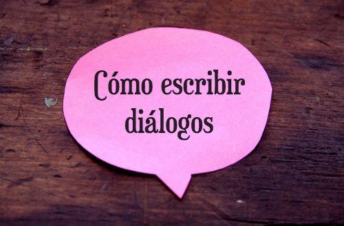 cómo escribir diálogos correctamente