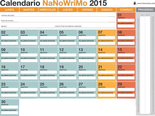 calendario-NaNoWriMo-2015