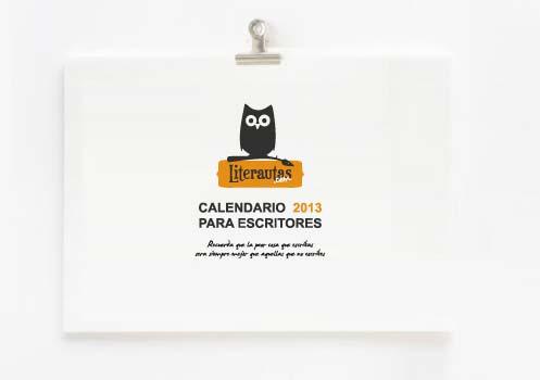 calendario para escritores 2013