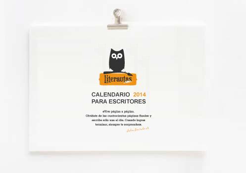 Calendarios del 2014 para escritores