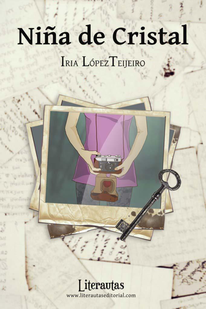 Portada novela Niña de Cristal
