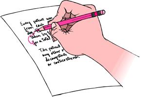 ejercicio de escritura creativa con personajes