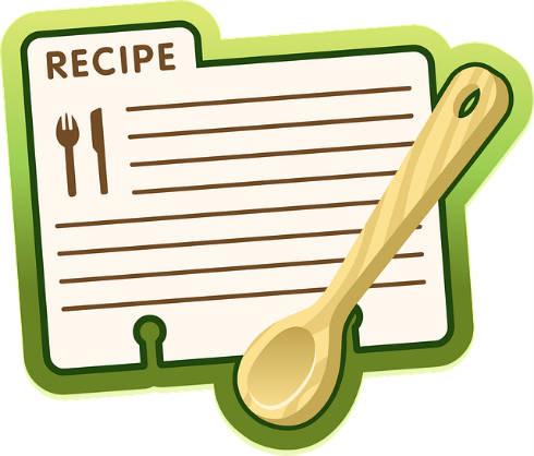 el cuaderno de recetas - escritura