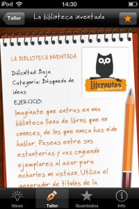 iDeas para Escribir - Ejercicios de escritura