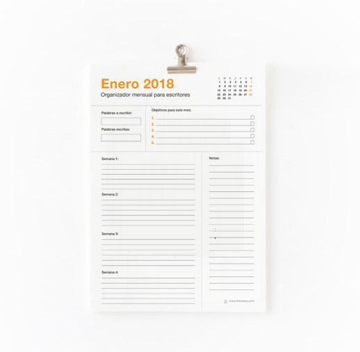 planificador-semanal-escritores-2018