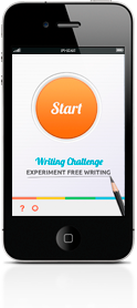 Writing prompts app