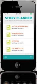 Aplicación para planificar tu novela